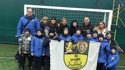 Броварія-2010 на Winter champion league 2018-2019 (17.11.2018)