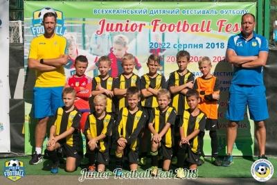 Футболісти 2010 року народження на Junior Football Fest 2018