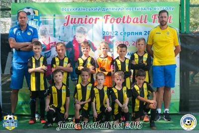 Футболісти 2011 року народження на Junior Football Fest 2018