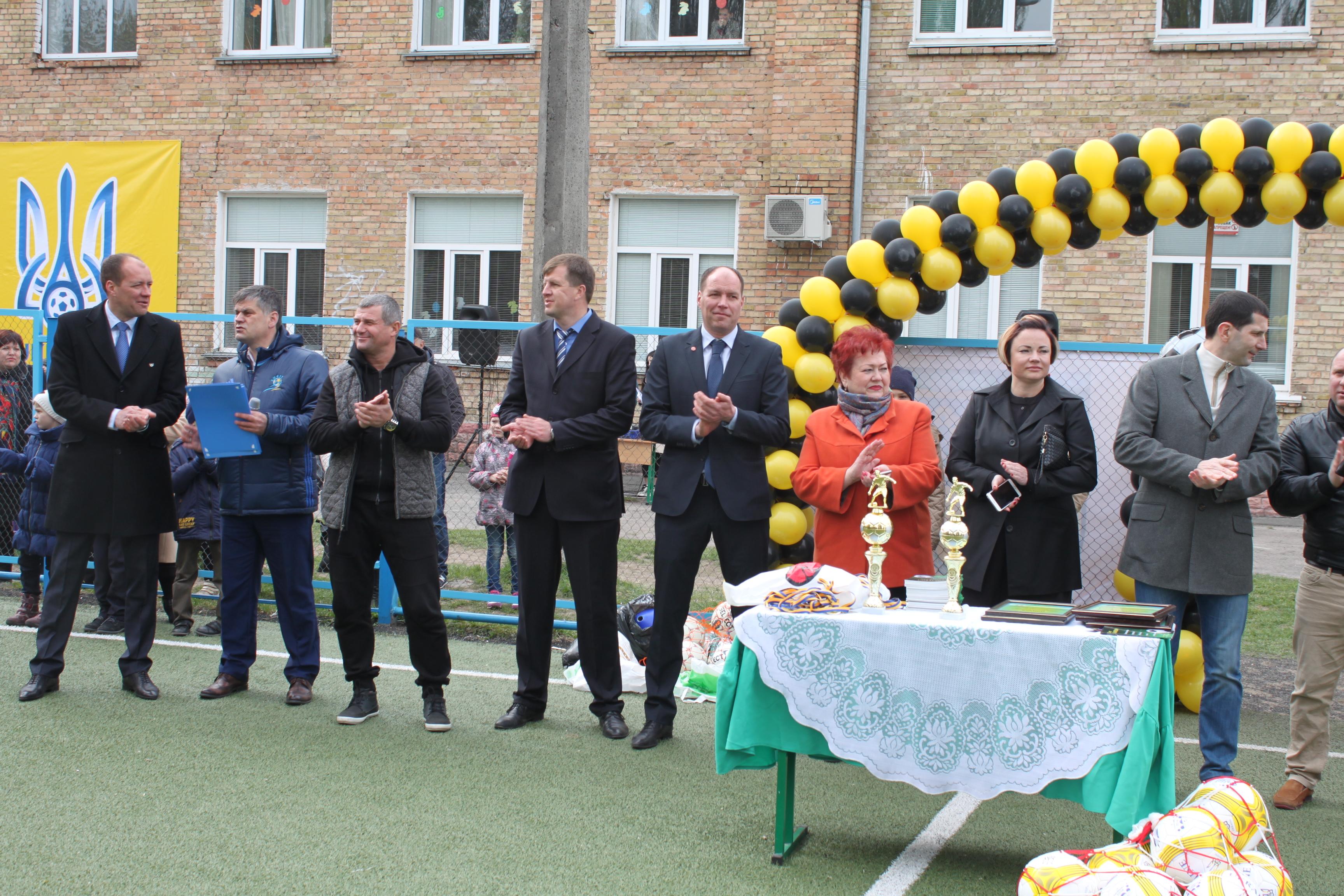 Урочисте відкриття дитячої академії ФК Броварія