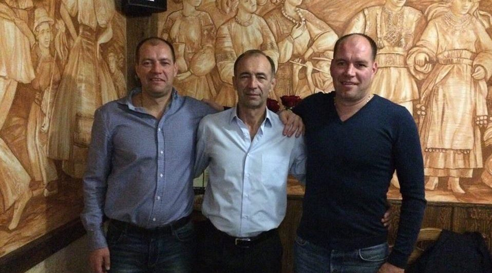 Олександр Кутаков та його сини Андрій та Дмитро