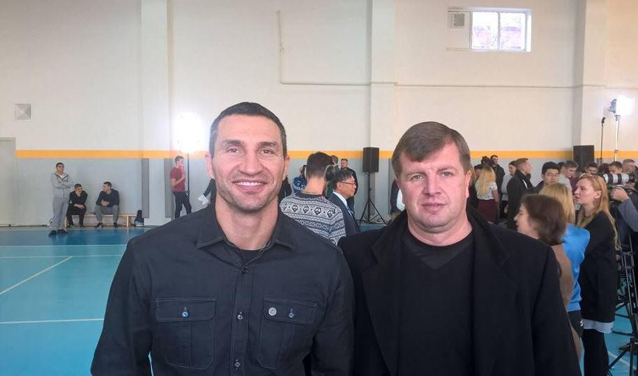 Володимир Кличко та Максим Кутаков