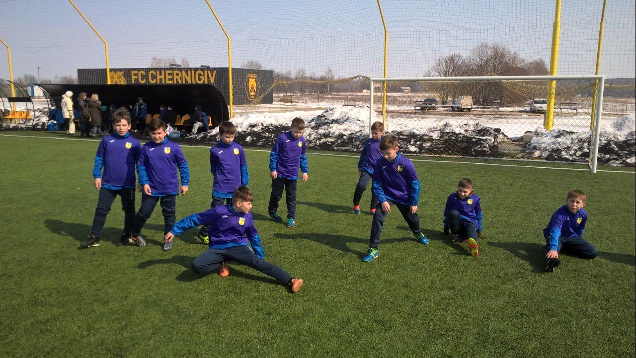 Юні футболісти Броварії 2008 року народження прибули на турнір до Чернігова