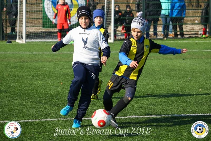 ФК Броварія (команда 2009 року народження) на турнірі Juniors Dream Cup 2018. Фото kldf.kiev.ua