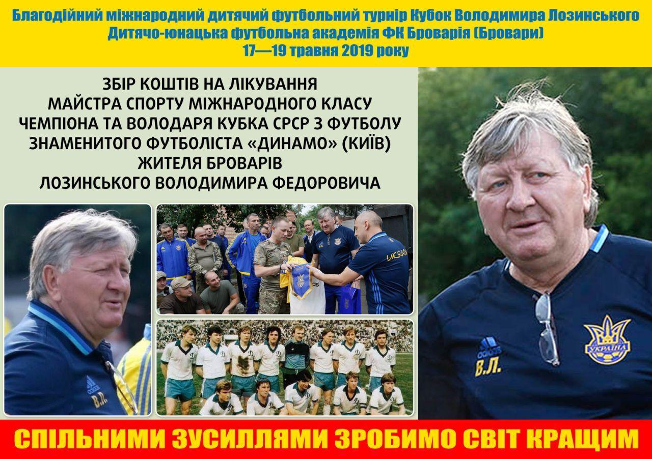 Кубок Володимира Лозинського, 2009, 2019